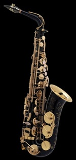 Selmer Super Action 80 Series II E-flat Alto Saxophone Black Lacquer Engraved, Lacquered Keys (NG VO) อัลโต แซกโซโฟน เซลเมอร์