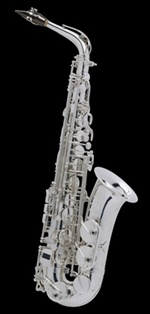 Selmer Super Action 80 Series II E-flat Alto Saxophone Silver Plated Engraved (AG) อัลโต แซกโซโฟน เซลเมอร์