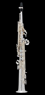 Selmer  Super Action 80 Series II B-flat Soprano Saxophone Silver Plated Engraved (AG) โซปราโน แซกโซโฟน เซลเมอร์